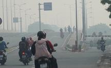 """TP HCM: Toàn bộ trạm đo mức ô nhiễm không khí hiện """"màu nguy hiểm"""""""