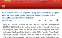 Cơ quan An ninh điều tra Công an TP HCM khởi tố Phạm Chí Dũng