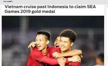 Truyền thông châu Á ca ngợi đẳng cấp vượt trội của U22 Việt Nam