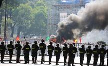 Có đến hơn 4000 người tham gia diễn tập chống khủng bố ở sân bay và trung tâm TP HCM