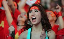 """U22 Việt Nam chặn đứng """"hiện tượng"""" Campuchia: CĐV vỡ òa phấn khích"""