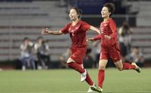 Tuyển nữ Việt Nam dẫn trước Thái Lan 1-0