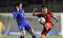 Chung kết bóng đá nữ SEA Games 30: Việt Nam 0-0 Thái Lan