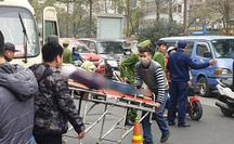 Tá hỏa phát hiện tài xế tử vong trên ghế lái xe tang lễ