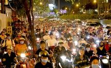 Người chạy ôtô cần lưu ý hướng đi mới ở khu vực gần cầu Sài Gòn