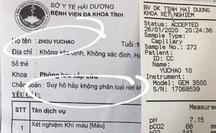 Giám sát 18 y, bác sĩ ở Hải Dương tiếp xúc bé trai Trung Quốc nghi nhiễm virus Corona