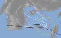 Dự báo thêm về hướng đi của bão số 8 (bão Saudel) sau khi vào biển Đông