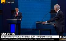 """Tổng thống Trump """"làm điều chưa từng làm"""" trong tranh luận"""
