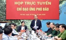 Thủ tướng chủ trì họp ứng phó bão số 9 giật cấp 15, gây mưa đặc biệt to hướng vào Đà Nẵng - Phú Yên