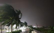 Dự báo 10 giờ sáng nay 28-10, bão số 9 vào đến đất liền