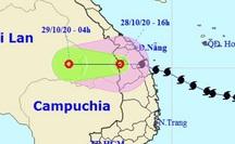 Bão số 9 suy yếu thành áp thấp nhiệt đới, tâm đang ra khỏi nước ta