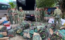 Sạt lở vùi lấp hơn 40 người ở Quảng Nam: Chọn phương án đi bộ 10 km đường rừng tiếp cận hiện trường