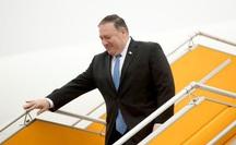 Ngoại trưởng Mỹ Michael Pompeo tới Hà Nội, bắt đầu thăm chính thức Việt Nam