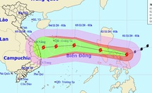 Siêu bão Goni vào Biển Đông, miền Trung lại đối mặt với bão lớn