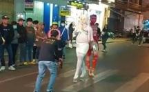 """Nhóm thanh niên trình diễn phản cảm ở Đà Lạt: """"Nghệ thuật mới""""(!?)"""