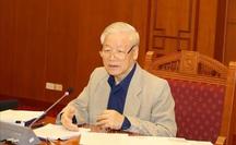 Tổng Bí thư, Chủ tịch nước chủ trì họp về phòng, chống tham nhũng: Khẩn trương điều tra, xử lý vụ Nhật Cường