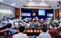 Thanh tra Chính phủ đang đối thoại với 50 hộ dân Thủ Thiêm