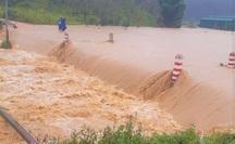 Nghẹt thở tìm kiếm 2 du khách TP HCM bị nước lũ cuốn trôi ở Lâm Đồng