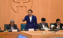 Một loạt lãnh đạo sở, quận, huyện bị Chủ tịch Hà Nội phê bình