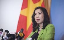 Việt Nam phản ứng trước những động thái mới đây của Trung Quốc trên biển Đông