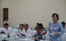 Làm việc với Công an TP HCM, đại biểu Nguyễn Thị Quyết Tâm bức xúc tiếng ồn ở khu dân cư