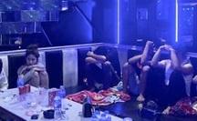 Tiệc thác loạn trong quán karaoke M&T bị đánh úp