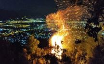 Đà Nẵng: Đang cháy đỉnh núi Sọ, lực lượng chức năng chưa thể tiếp cận