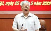 Tổng Bí thư, Chủ tịch nước: Chuẩn bị thật tốt nhân sự Quân đội tham gia Trung ương khóa XIII
