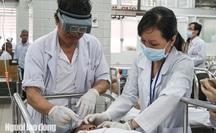 TP HCM: Tạt axit kinh hoàng ở quận 3, 3 người phỏng nặng