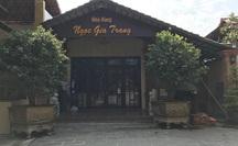 Tiếp tục cưỡng chế Gia Trang quán - Tràm Chim Resort từ ngày 1-6