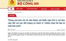 Khám xét khẩn cấp với thành viên Tổ giúp việc, tài xế Chủ tịch UBND Hà Nội