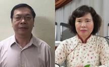 Bộ Công an đề nghị truy tố ông Vũ Huy Hoàng, truy nã bà Hồ Thị Kim Thoa