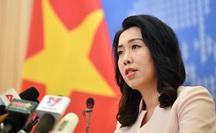 Người phát ngôn Bộ Ngoại giao phản ứng về Tweet Biển Đông của bà Hoa Xuân Oánh