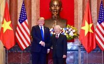 Lãnh đạo Việt Nam gửi điện mừng tới Tổng thống Mỹ Donald Trump