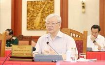 Tổng Bí thư, Chủ tịch nước: Không được để mất uy tín, danh dự công an nhân dân