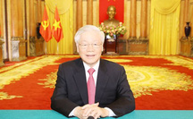 Tổng Bí thư, Chủ tịch nước Nguyễn Phú Trọng gửi thông điệp tới Liên Hiệp Quốc