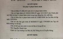 Phạt 50 triệu đồng Tạp chí Môi trường và xã hội vì đăng thông tin sai sự thật về Bí thư Đắk Lắk