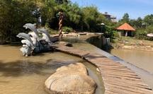 CLIP: Cận cảnh cả khu du lịch xây dựng không phép ở Đồng Nai