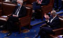 Phiên xử luận tội: Lãnh đạo phe đa số Thượng viện quay lưng với ông Trump