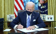 Tân Tổng thống Mỹ Joe Biden: Hủy bỏ nhiều chính sách của người tiền nhiệm