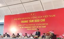 Số lượng đại biểu tham dự Đại hội XIII của Đảng đông nhất từ trước đến nay