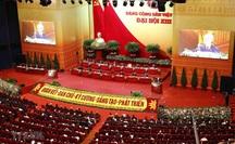 Khai mạc trọng thể Đại hội XIII của Đảng