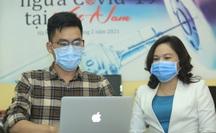 """Giao lưu trực tuyến """"Tiêm vắc-xin ngừa Covid-19 tại Việt Nam"""""""