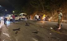 Tai nạn kinh hoàng trên đèo Bảo Lộc