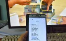 Lại rộ tin nhắn SMS giả mạo ngân hàng để lừa đảo