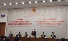 Kỳ họp thứ 2 Quốc hội khóa XV kéo dài 17 ngày, họp cả thứ bảy và chủ nhật