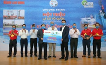 """Bamboo Capital đồng hành cùng Chương trình """"Một triệu lá cờ Tổ quốc cùng ngư dân bám biển"""""""