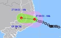 Áp thấp nhiệt đới đổ bộ vào Khánh Hòa, Nam Trung Bộ mưa rất to