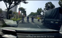 """CSGT TP HCM yêu cầu nhóm quái xế """"quậy"""" ở đường Trường Chinh, Nguyễn Văn Linh ra trình diện"""