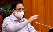 Thủ tướng Phạm Minh Chính đang làm việc với TP HCM